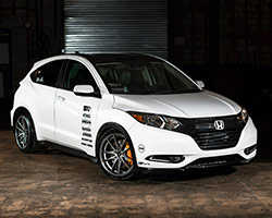 For the 2015 SEMA Show Brian Fox was once again asked by American Honda to build a custom vehicle, and this time Honda's goal was to showcase the all-new 2016 Honda HR-V