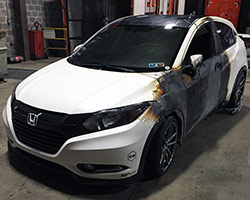It was somewhere in Illinois while the 2016 Honda HR-V was on its way to the SEMA Show in Las Vegas, Nevada that Brian Fox's hard work went up in smoke, quite literally