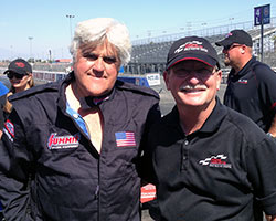 "The debut episode of the new CNBC series ""Jay Leno's Garage"" was filmed at the Auto Club Dragway in Fontana, California and features K&N supported Drag School founder Frank Hawley"