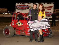 Frankie came out with a win at Santa Maria Speedway after leading all 30 laps