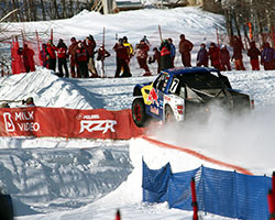 The 2015 Red Bull Frozen Rush course gave spectators their money's worth with extreme jumps