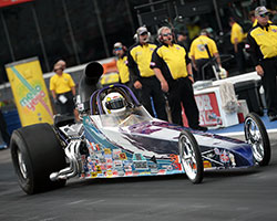 Michelle Furr's first Super Comp win at zMax Dragway