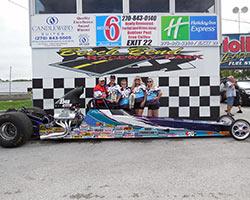 Michelle Furr Racing Team drag car