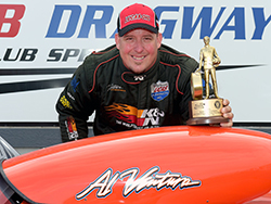 K&N Employee, and longtime drag racer, Greg Ventura earned an emotional win at Auto Club Dragway and dedicated the win to his father and racing mentor Al Ventura
