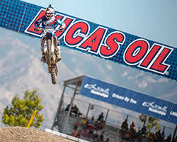 Jake Gagne in the Lucas Oil Pro Motocross