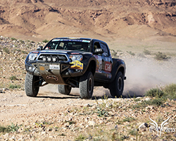 Both Nicole Pitell-Vaughn and her teammate Jessi Combs have a strong background in off-road racing
