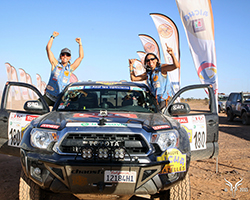 2015 marked Nicole and Jessi's first attempt at the Rallye Aïcha des Gazelles du Maroc and Team #180