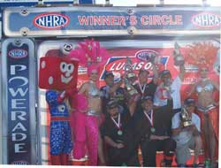 Sportsman Class Winners at Las Vegas Motor Speedway