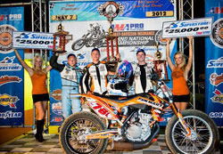 Gerit Callie recently earned a spot atop the podium at Hagerstown, Maryland
