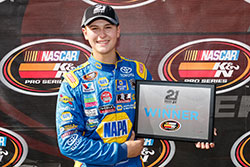 Todd Gilliland wins pole at Evergreen Speedway