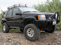 Easy to upgrade 1993-1998 Jeep Grand Cherokee ZJ with products from K&N filters