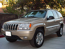 1999-2004 Jeep Grand Cherokee WJ could upgrade to the optional 4.7L PowerTech V8
