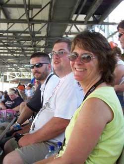 L to R: Nathan Hersey, Joe Raffensburger, Joy Levens