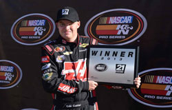 Cole Custer wins the Pole in the Casino Arizona 50 at Phoenix International Raceway
