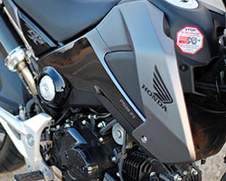 K&N offers a washable and reusable performance air filter upgrade for 2013-2014 Honda Grom / MSX125 motorcycles that fits in the stock air filter box without modifications