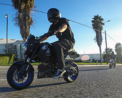 The 2014 Honda Grom takes legendary Honda 4-stroke reliability and blends it with modern fuel injection, electric starting, an easy to use four speed transmission, and hydraulic disc brakes