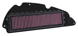The HA-2714 has a pleated filter media design, offering long service intervals for 2014-2015 Honda NSS300 scooters