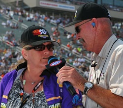 Peggy Coleman could not have been happier to be selected as a contestant in the K&N Horsepower Challenge