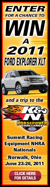 2011 K&N Horsepower Challenge Sweepstakes