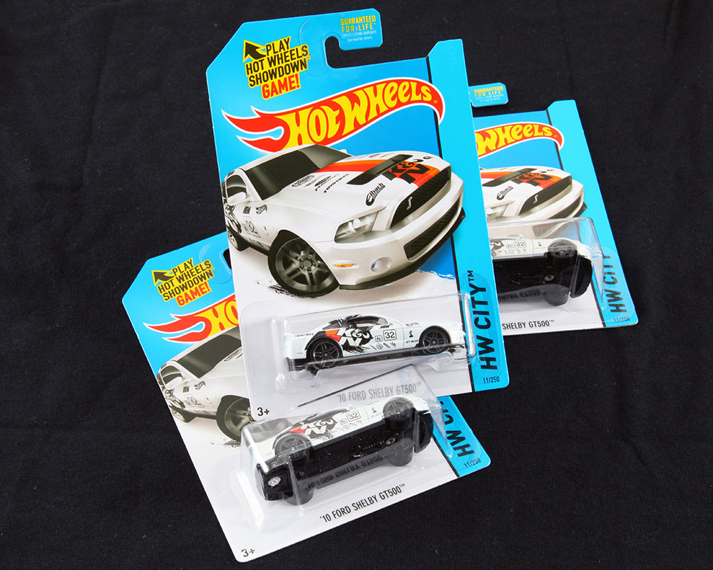k&n air filters hot wheels ford shelby gt500 mustang to hit store
