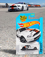 Hot Wheels® has released the limited edition HW City™ 2010 Ford Shelby GT500™ Mustang