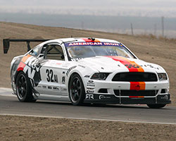 The K&N Ford Racing Mustang RTR race car has clinched the NASA American Iron regional championship and will head to Sonoma, California to compete for the National Championship