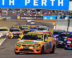 K&N performance filters has established a 2-year deal with the Australian V8 Ute Racing Series to be the exclusive oil and air filter supplier