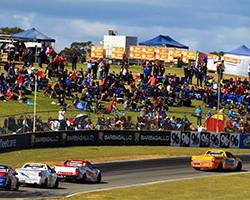 Only entrants that hold a license to compete and are shareholders in the Australian V8 Ute Racing Company can compete which restricts the field to an exclusive 32 entrants