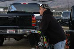 Robert Haslam at FMX Nationals at Pala raceway