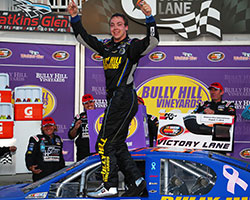 Scott Heckert has a knack for turning left, and right, as three of his four NASCAR career victories have come on road courses; including back-to-back wins at Watkins Glen International