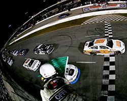 Austin Hill's only challenge was NASCAR K&N Pro Series East Rookie contender Dalton Sargeant
