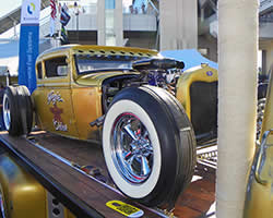 Hogie Shine 1930 Ford Model-A Coupe at SEMA