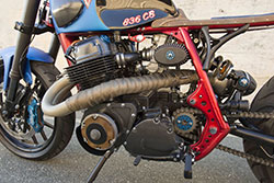 Honda CB 750-836 by AFT Customs with Wiseco Piston 836cc big bore kit