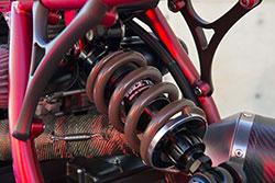 Honda CB 750-836 by AFT Customs with RaceTech G3-S custom monoshock