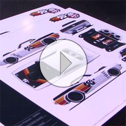 Hot Wheels K&N Plymouth Barracuda 40th Anniversary Celebration at SEMA 2008 Video