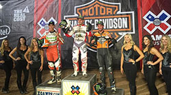 Jared Mees first place podium