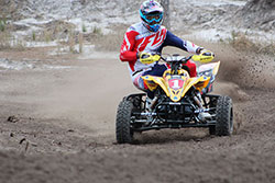 Chad Wienen on his K&N Filters equipped ATV