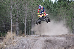 Chad Wienen jumping his K&N Filters equipped ATV