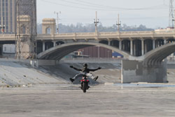 A One Wheel Revolution shoot at the famed Los Angeles River Canal.