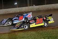 Matt Long dirt track racing in SECA, FUEL and Fastrak