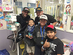 Putting a smile on children's faces at Loma Linda Children's Hospital