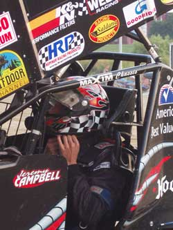 World of Outlaws racer Jeremy Campbell