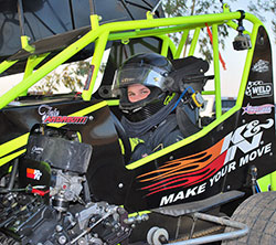 The Andreotti Racing team chooses a K&N reusable air filter and K&N crankcase breather to provide the airflow and protection needed to win races in their Pace Chassis Micro Sprint car