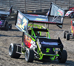 In just his first year of Micro Sprint Car racing, Jake Andreotti has already accumulated six wins and is battling for the King Of California championship title