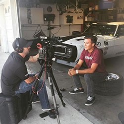 Rozelle has earned notoriety from both his successful driving and his age, making him one of the youngest competitors to ever compete in the Optima Series.