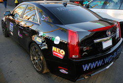 Cadillac CTS-V Featured at the SEMA Show