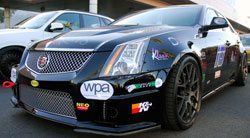 Matte Green Cadillac CTS-V Coupe at the SEMA Show