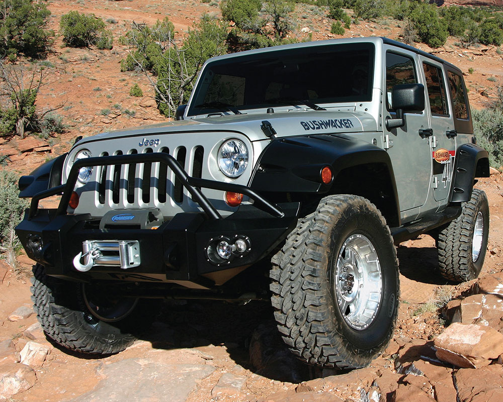 Chrysler engineers introduced four real doors and improved seating to the  2007 Jeep Wrangler JK