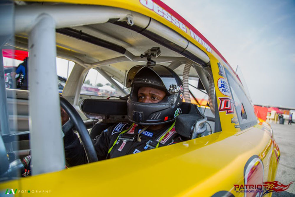 Jesse iwuji to host military family at nascar sprint cup for Charlotte motor speedway driving school