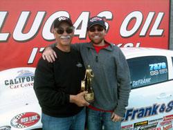 2011 NHRA LODRS Div 7 Super Stock Champion Jimmy DeFrank